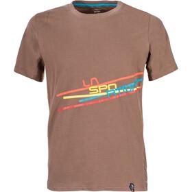 La Sportiva Stripe 2.0 - T-shirt manches courtes Homme - marron